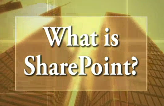 What's the SharePoint? (Presentation)