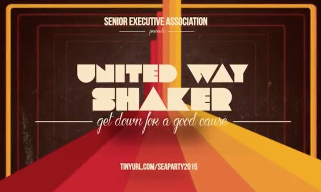 United Way Shaker