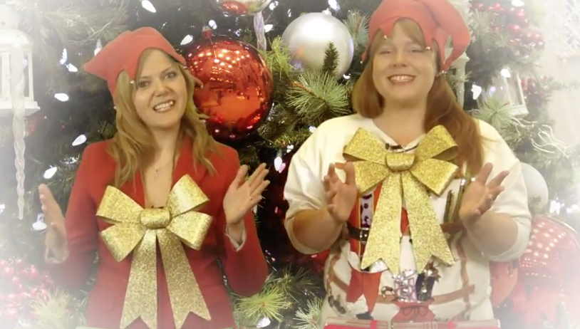 Cubicle Cast Christmas